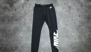 Nike W Sportswear Leggings Black/ White L