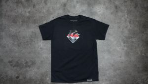 Pink Dolphin Chrome Waves Tee Black S