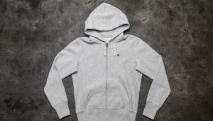 Champion Reverse Weave Classic Zip Hoody Light Oxford Grey S