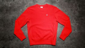 Champion Reverse Weave Crewneck Sweatshirt Red S