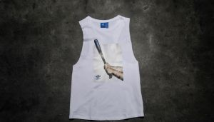 adidas Graphic Tank Top Core White XS