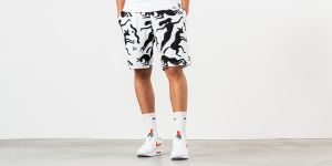 by Parra Workout Woman Horse Shorts White