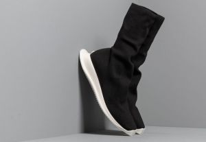 Rick Owens DRKSHDW Runner Stretch Sock Low Black/ Milk/ Milk