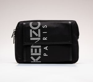 KENZO Paris Logo Chest Rig Black