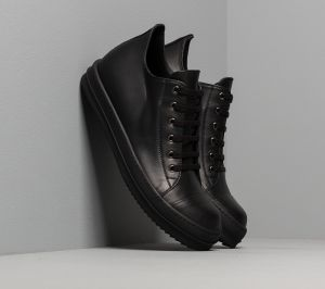 Rick Owens Low Sneaks Black/ Black