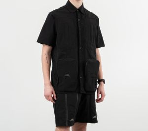 A-COLD-WALL* Multi Pocket Shirt Black