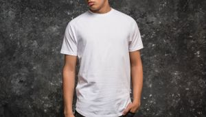 Publish Index Shortsleeve Raglan Knitted Tee White S