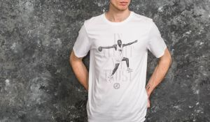 Jordan AJ7 In Flight We Trust Tee White S