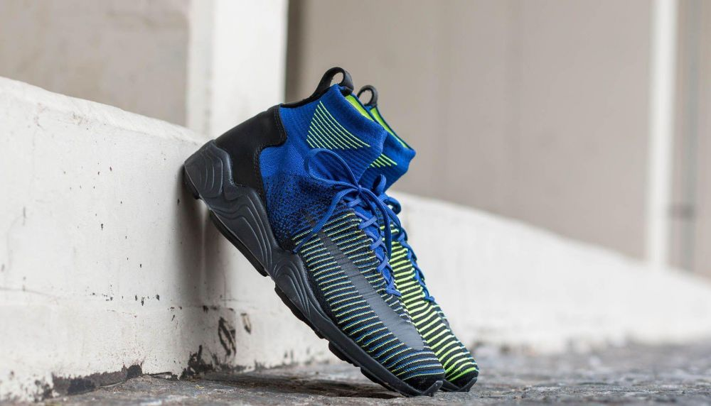 Nike Zoom Mercurial XI Flyknit Deep Royal Blue/ Black-Volt EUR 42