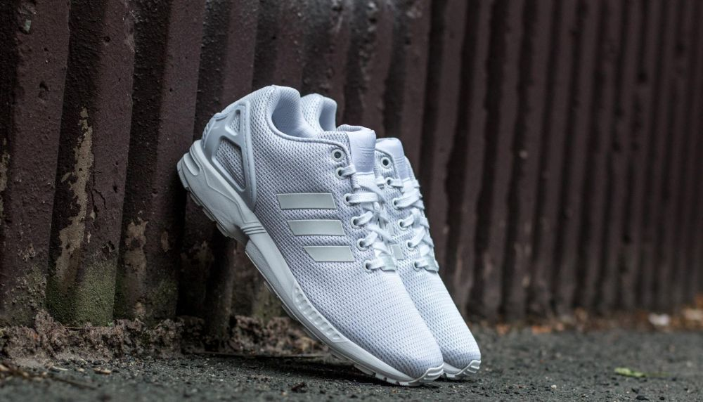 adidas ZX Flux Ftw White/ Ftw White/ Cool Grey EUR 37 1/3