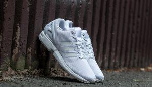 adidas ZX Flux Ftw White/ Ftw White/ Cool Grey EUR 41 1/3