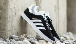 adidas Gazelle Core Black/ White/ GoldMT EUR 43 1/3