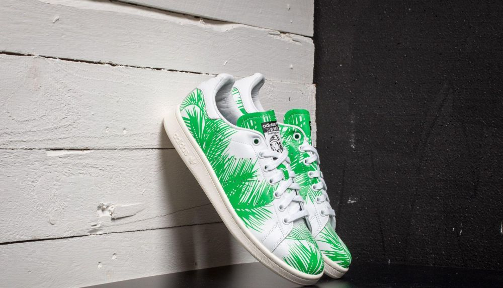 adidas Pharrell Williams Stan Smith Billionaire Boys Club Palm FtwWhite/ Viv Green/ Off White EUR 38 2/3