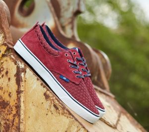 Radii The Jax Rosewood Navy Woven Suede EUR 45