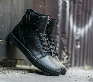 Supra Skytop Black/ Black-Red EUR 40.5