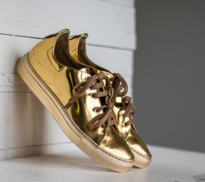 Marco Laganà Sneaker Low Gold/ Gold US 6.5