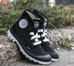 Palladium Blanc Hi Black/ White EUR 46