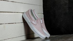 Vans Classic Slip-On (Speckle Jersey) Pink/ True White EUR 35