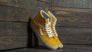 Vans Sk8-Hi (Suede/Canvas) Spectra Yellow/ True White EUR 37