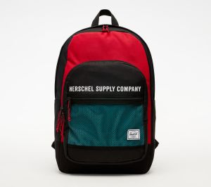 Herschel Supply Co. Kaine Backpack Black/ Red/ Blue