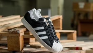 adidas Superstar 80s Black1/Wht/Chalk2 EUR 43 1/3