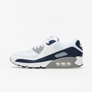 Nike Air Max 90 White/ White-Particle Grey-Obsidian