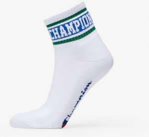 Champion Rochester Ankle Socks White/ Green