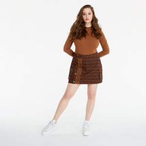 adidas x Ivy Park Monogram Skirt Wild Brown