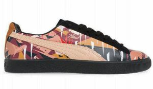 Puma Clyde Moon Jungle NATUREL tenisky