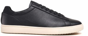 Clae Bradley Black Milled Tumbled Leather tenisky