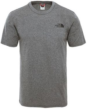 The North Face M Ss Simple Dome Tee Tnf Me Grey He tenisky
