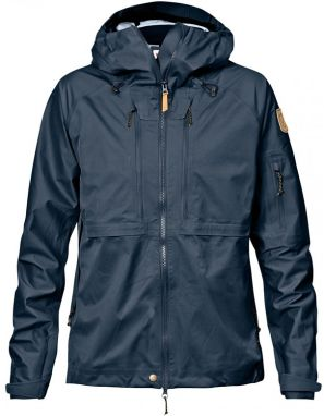 Fjällräven Keb Eco-Shell Jacket Dark Navy Women