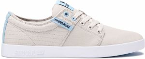 Supra Stacks II Bone Stitch White tenisky