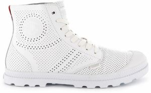 Palladium Pampa Mid LP Perforated tenisky