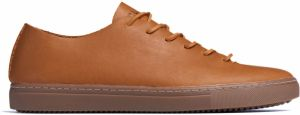 Clae One Piece Curry Leather Tobacco  tenisky