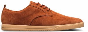 Clae Ellington Suede Blowfish Brown tenisky