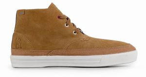 Chrome Industries Forged Suede Chukka Boot Golden Brown Off White tenisky