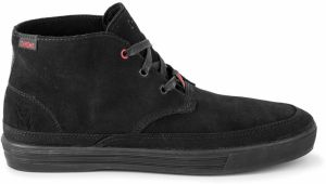 Chrome Industries Forged Suede Chukka Boot Black Black tenisky