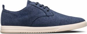 Clae ELLINGTON TEXTILE NAVY RECYCLED TERRY tenisky