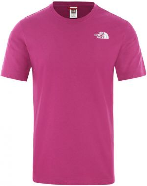 The North Face M S/S Redbox Tee  - Eu Wild Aster Purple
