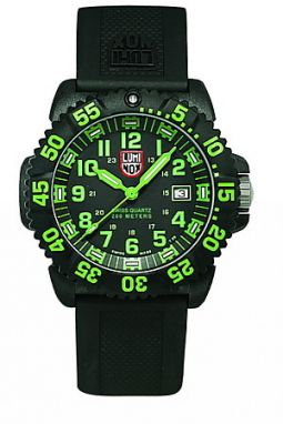 Luminox New Navy Seals 3050 - PU strap, colored numbers A.3067