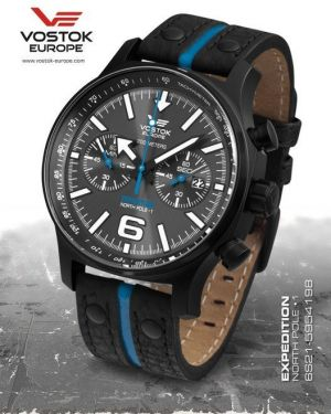 Vostok Europe Expedition North Pole 1 Chrono Line 6S21/5954198
