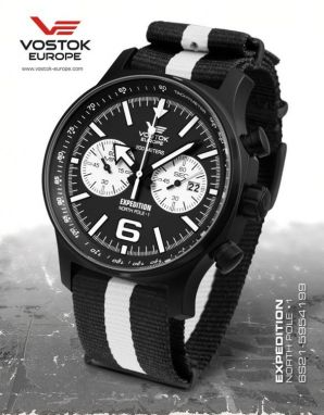 Vostok Europe Expedition North Pole 1 Chrono Line 6S21/5954199 textil