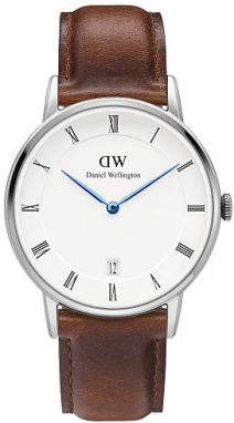 Daniel Wellington DAPPER 34MM St Mawes Silver DW00100095