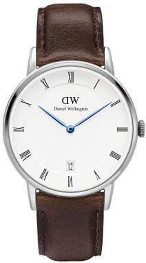 Daniel Wellington DAPPER 34MM  Bristol Silver DW00100098