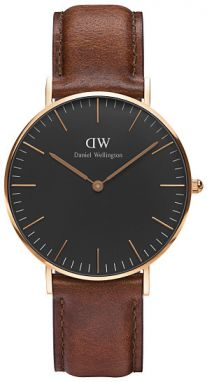 Daniel Wellington Classic Black St Mawes Rose gold DW00100136
