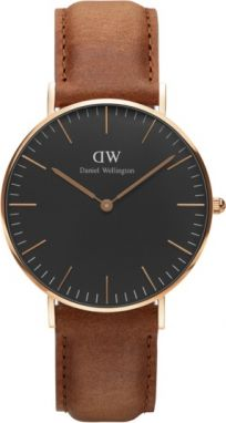 Daniel Wellington Classic Black Durham Rose gold DW00100138
