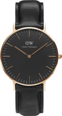 Daniel Wellington Classic Black Sheffield Rose gold DW00100139