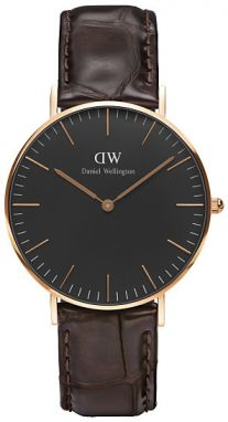 Daniel Wellington Classic Black York Rose gold DW00100140