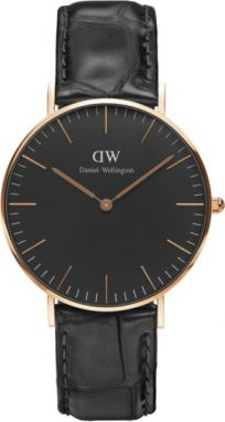 Daniel Wellington Classic Black Reading Rose gold DW00100141